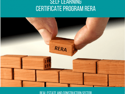 Certificate Program – Real Estate Regulation Act (RERA) || 1 Month || Self Learning Course