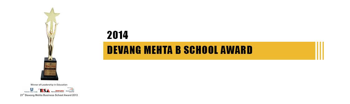Devang mehta School award