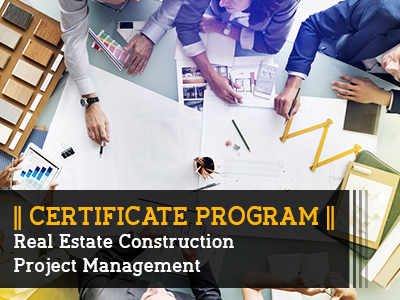Certificate Program_Real estate construction Project Management