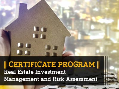 Certificate Program – Real Estate Investment Management and Risk Assessment || 3 Months || Self Learning Course