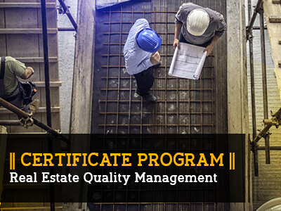 Certificate Programs_Real estate Quality Management