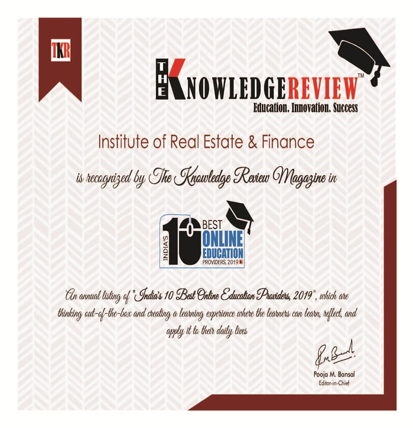 The Knowledge Review Award