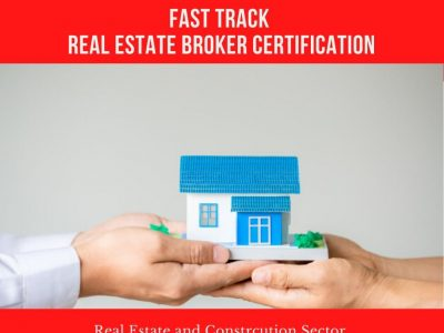 Real Estate Broker Certification ( Fast Track )