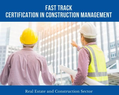 Certificate Program – Construction Management || 1 Month || Self Learning Course