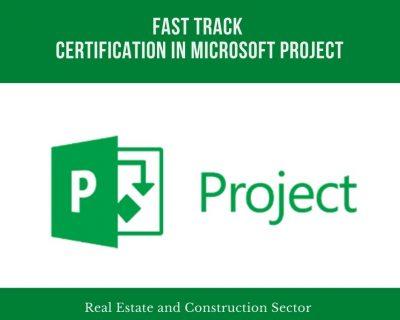 Certificate in Microsoft-Project ( Fast Track )