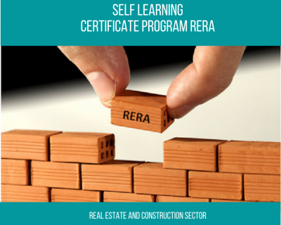 Certificate Program – Real Estate Regulation Act (RERA)    1 Month    Self Learning Course