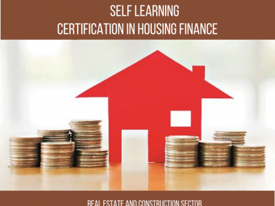 Certificate Program – Housing Finance || 3 Months|| Self Learning Course