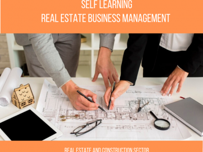 PG Certificate Program – Real Estate Business Management  || 4 Months || Self Learning Course