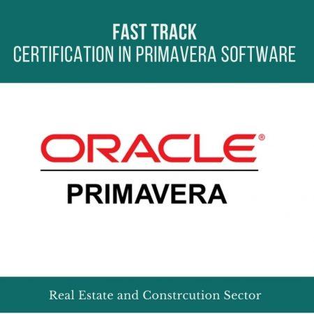 Fast Track Certification in Primavera Software